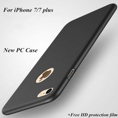 New High quality hard PC back cover case for apple iphone 7 and for apple iphone 7 plus Ultra-thin Luxury case   Free HD film -- Locate the offer simply by clicking the VISIT button