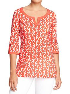 Old Navy | Women's Printed Tunics
