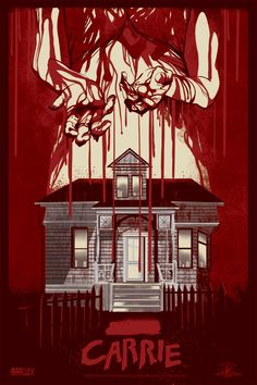 Carrie (1976)  Based on book that ended on Stephen King's trash bin. Thankfully, his wife recovered it. His first book!