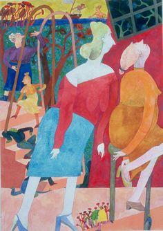 Jean Albano Gallery :: Gladys Nilsson