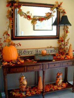 fall-decorated-desk | Home Design, Interior Decorating, Bedroom Ideas - Getitcut.com : Home Design, Interior Decorating, Bedroom Ideas – Getitcut.com