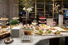 Luxury Hotel Breakfasts | The sumptuous breakfast buffet that's included in your room rate ...