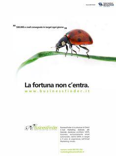 Pubblicità per Iab Forum 2008: il focus è sul nostro database professioanle e 100% business