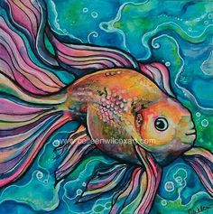 Rainbow Fish, by Colleen Wilcox