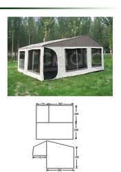 2 sunrooms Aussie style off road camping trailer tent