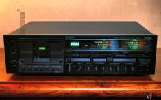 See more on our website : www.gold-vintage-experience.com Cassette Recorder, Tape Recorder, Recording Equipment, Audio Equipment, Yamaha Hi Fi, Radios, Car Audio Installation, Hifi Audio, Audio System