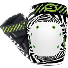 Smith scabs knee pads Zebra