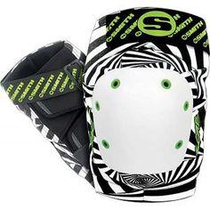 Smith scabs knee pads Zebra
