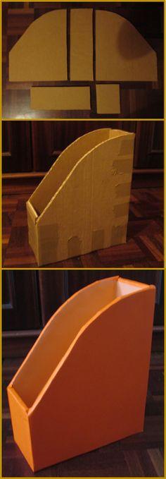 Diy Cardboard Furniture, Cardboard Crafts, Diy Gift Box, Diy Box, Diy Para A Casa, Craft Organisation, Paper Crafts Magazine, Diy School Supplies, Summer Diy