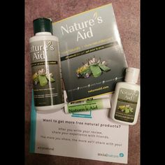 I recently received Natures Aid and I was so excited to try it...
