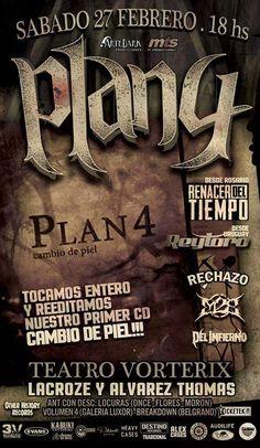 PLAN 4 + REY TORO @ TEATRO VORTERIX   Buenos Aires   Ciudad Autónoma de Buenos Aires   Argentina