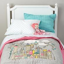 Ever After Quilt in Quilts & Blankets   The Land of Nod