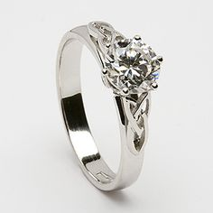 Such a beautiful ring! love the celtic knot and infinity diamond. simple and elegant