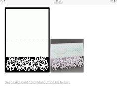 ✔️Deep edge card 10
