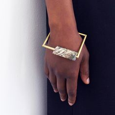Jewellery in Bold Materials by Malin Henningsson MONOQI | Design your Life.