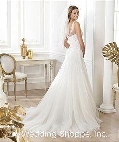 Bridal Gowns Pronovias Lacinne Bridal Gown Image 3