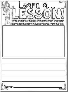 Close Reading Book Study: free printables
