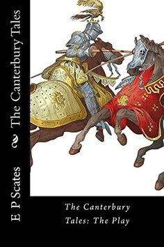 The Canterbury Tales by E P Scates https://smile.amazon.com/dp/B017RBEHZS/ref=cm_sw_r_pi_dp_x_9fU-xbEN0E4WA -An adaptation of three of Chaucer's classic and most entertaining stories: The Knight's Tale, The Wife of Bath's Tale, and The Pardoner's Tale. This version also incorporates the murder in the cathedral at the beginning of the play to set the scene. This would be a good introductory text into both the stories and the world of Chaucer.