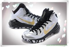 Nike Hyperdunk 2014 Branco / Preto / Ouro 653640-071 Masculino chuteiras venda