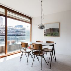 photographer Anton Rodriguez has documented the interiors of 22 homes at the iconic Barbican Estate in London.