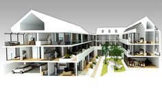 Assisted Living Concept | Calderpeel FGP Architects | Altrincham & Esher