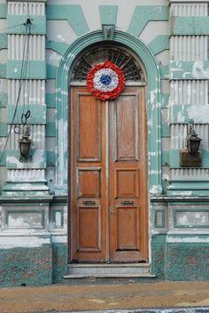 #Asuncion, Paraguay door