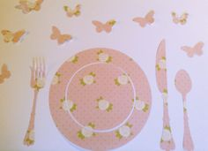 Roses table mat - Tovaglietta per la colazione con le rose