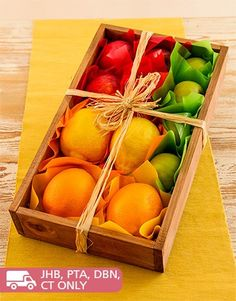 NetGifts  is South Africas largest sameday gift & gifting delivery service. Buy Rustic Crate of Mixed Fruit online today.
