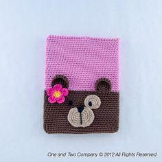 New PDF Crochet Pattern - Bear Ipad Case