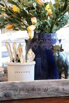 Savvy Southern Style: Decorating with Vintage Silver