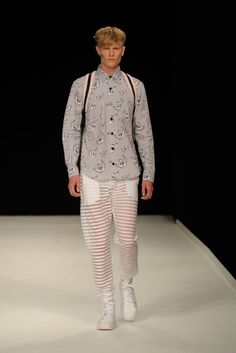 Bobby Abley, Alan Taylor & Craig Green MAN Show @ London Collections: Men Spring/Summer 2014 | SAMUEL JING