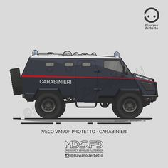 Blog di archivio delle illustrazioni VW di Kombit1, pagina instagram Swat Police, Police Cars, Iveco Daily 4x4, Fj Cruiser, Military Weapons, Emergency Vehicles, Photoshop Design, Armored Vehicles, Ambulance