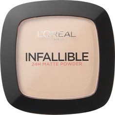 L'Oreal Paris Infallible Powder (Various Shades) ($7.15) ❤ liked on Polyvore featuring beauty products, makeup, face makeup, face powder, beauty, cosmeticos, cosmetics, make and l'oréal paris