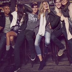 Group Date Night with the Crew | A&F Lookbook