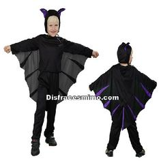 disfraz de murcielago para niño