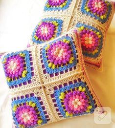 Birbirinden güzel, gözünüzü gönlünüzü açan tığ işi örgü motifleri / You'll love these amazing crochet pieces...