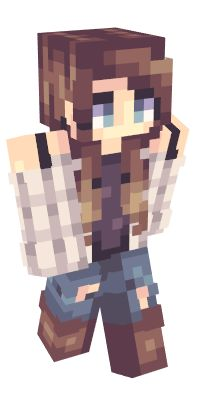 Check out our list of the best Girl Minecraft skins. Skins Minecraft, Minecraft Ideas, Lyna Youtube, Capas Minecraft, Avatar, Mc Skins, Fictional Characters, Check, Tattoo