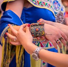 Robe et Bijoux kabyles - Algérie