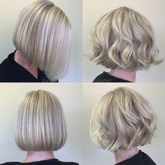 82 Likes, 4 Comments - Ashley Lewis Ashley Lewis, Blonde Bobs, Hair Studio, Pretty Hair, Chic, Hair Styles, Instagram, Fashion, Haircuts