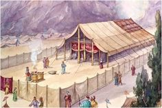 Possible Rendition of the Tent (Tabernacle) of God