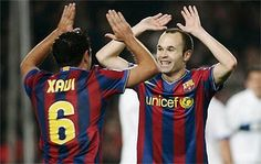 The backbone of the greatest team in the world - Xavi & Iniesta
