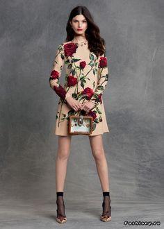 Dolce & Gabbana pre-fall 2015 Часть 1