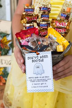 On or before Halloween, deliver your BOO bundle to your neighbors front porch and hopefully they will  #BooitForward