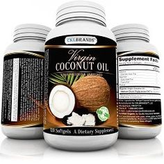 Virgin Cold Pressed & Unrefined Pure Organic Non GMO Coconut Oil Supplement – For Weight Loss, Hair Growth, Energy and Healthy Skin - 3000 mg Per Serving of Essential Fatty Acids - Organic Coconut Oil Coconut Oil For Fleas, Coconut Oil For Teeth, Coconut Oil Pulling, Cooking With Coconut Oil, Extra Virgin Coconut Oil, Coconut Oil Uses, Benefits Of Coconut Oil, Organic Unrefined Coconut Oil, Infographic
