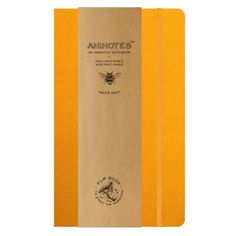 Aninotes Notebook - Bees Gee. Bees really do dance in this aninotes notebook, flip the pages, watch them dance across the book. £9.50 free UK delivery.