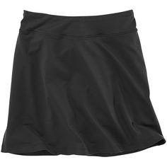 Title Nine Dream Skort - Solid ($54) ❤ liked on Polyvore featuring taupe, title nine skort, golf skirts, long skorts and petite skorts