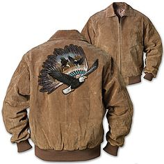 Men's Jacket: Eagle Warrior Men's Jacket