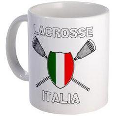 Lacrosse Italia Mug> Lacrosse Italia> YouGotThat.com