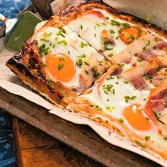 Breakfast tart recipe. For the full recipe, click the picture or visit RedOnline.co.uk