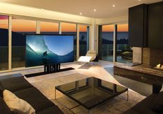 When a visible television doesn't work for your space installing a TV floor lift can better the appearance, feel, and living arrangements of your household. With a push of the button you can make it rise up or sink down, and change Tv Cabinets, Remodel, Acoustic Ceiling Tiles, Types Of Ceilings, Modern Design, Tv, Contemporary Design, Flooring, Cabinet Makers